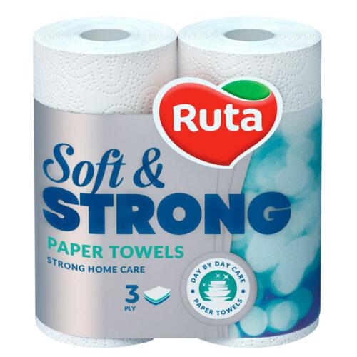 Ruta, խոհանոցի սրբիչ, եռաշերտ, 2 հատ